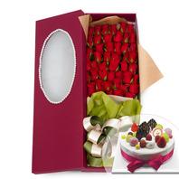 100송이꽃상자+케이크